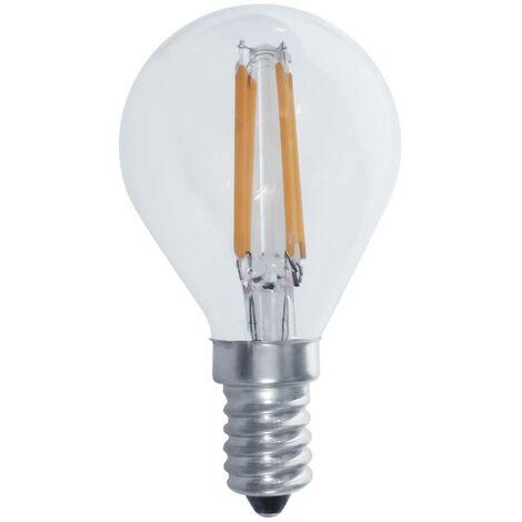 BOMBILLA LED FILAMENTO G45 E14 6W 3000K