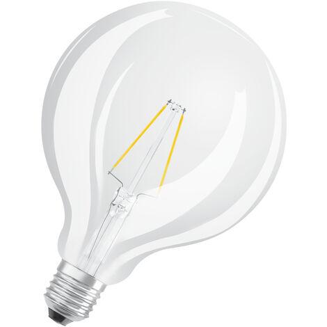 Bombilla LED Filamento Globo E27 2.5W 2700K Luz Calida OSRAM