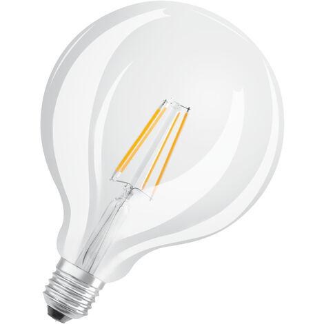 Bombilla LED Filamento Globo E27 4W 2700K Luz Calida OSRAM