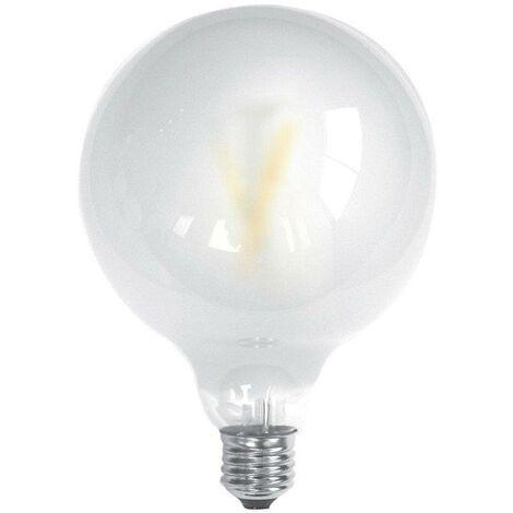 Bombilla LED Filamento GLOBO E27 6W Luz Blanca 5000K MATE