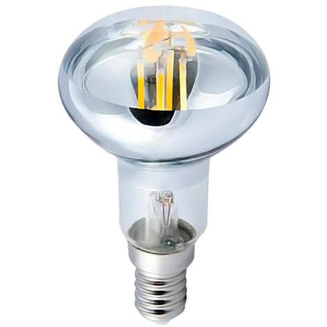 Bombilla LED Filamento Reflectora E14 6W Equi.40W 470lm 15000H 7hSevenOn