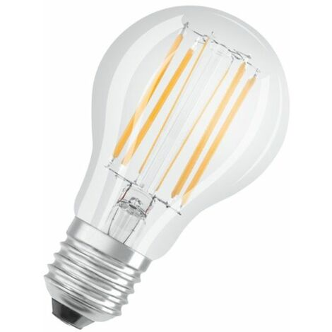 Bombilla led filamento regulable E27 9W 827 blanco cálido Osram