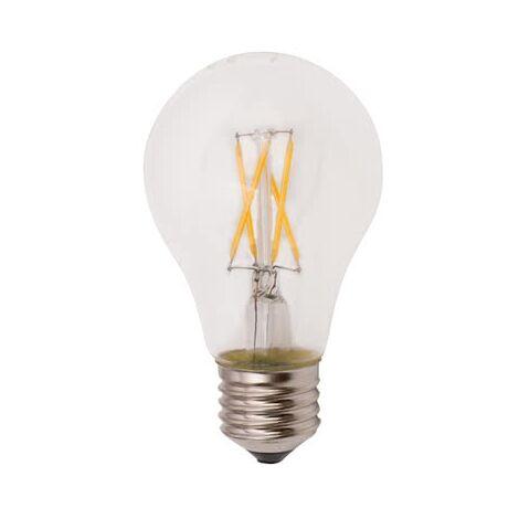 Bombilla LED Filamento Standar E27 8w Cálida