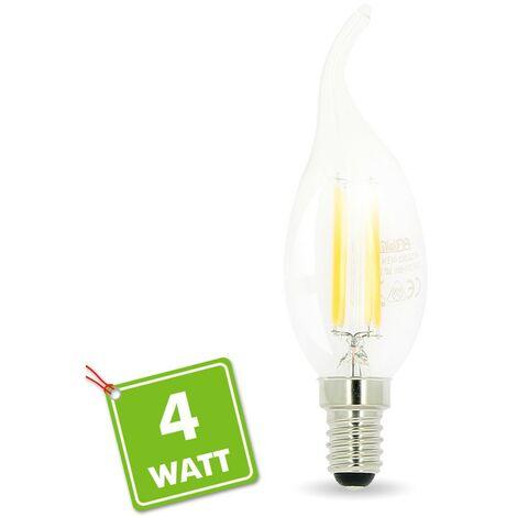 Bombilla Led Flame E14 4W Filamento | Temperatura de color: Blanco cálido 2700K