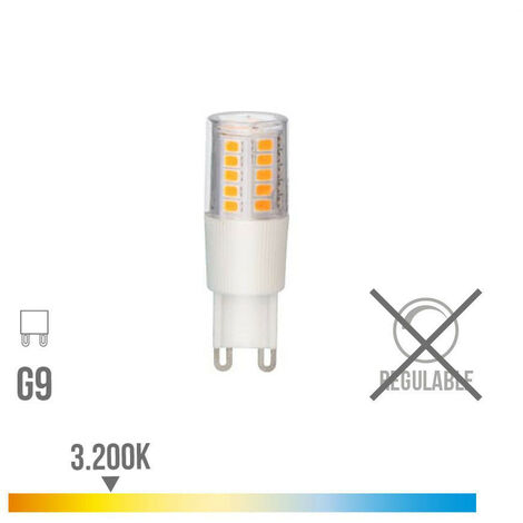 BOMBILLA LED G-9 5.5W 3200K 230V 650LUMENS CON BASE CERAMICA EDM - NEOFERR