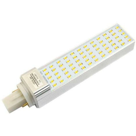 Bombilla Led G24 (2 pin) SMD2835, 12W