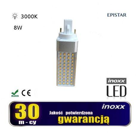 Bombilla LED G24 8W 3000K calore rotante Maniglia