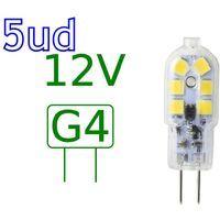 Bombilla LED G4 2,5W blanco natural 4000ºK Blister 5 uds