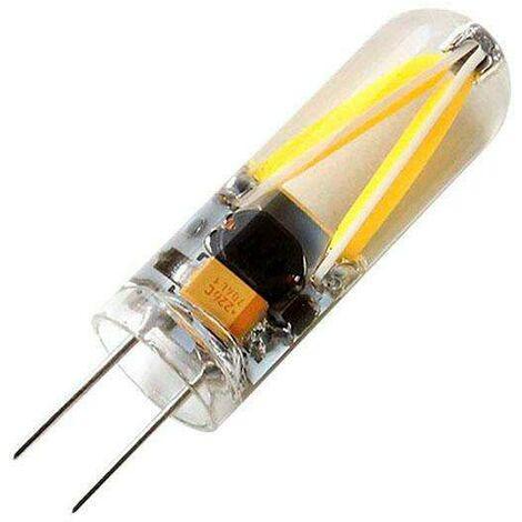Bombilla Led G4-AC/DC12V, COB Filament, 2W, 320º