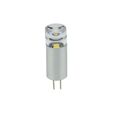 Bombilla LED G4 Bi-Pin 1W 12V tubular
