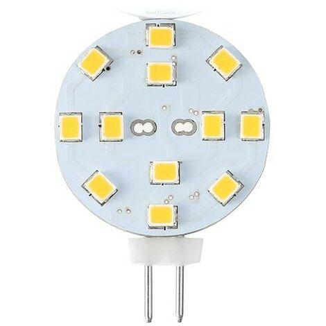 Bombilla LED G4 Bi-Pin 2,3W plana