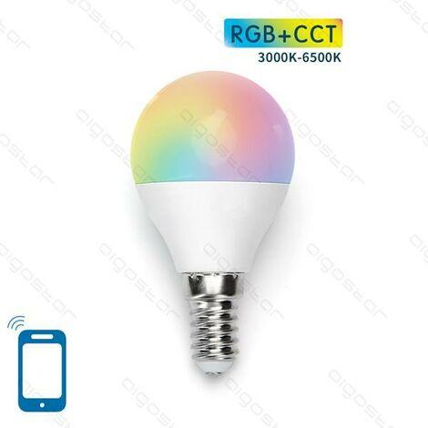 Bombilla LED G45 E14 7W WIFI RGB+CCT