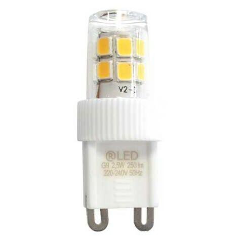Bombilla LED G9 (2.5W)