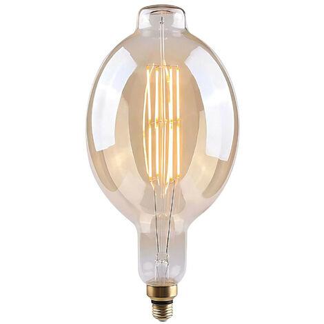 Bombilla LED Gigante E27 8W Equi.40W 500lm Regulable 2100K Gold 15000H 7hSevenOn Vintage