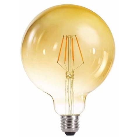 Bombilla LED globo 125 caramenlo (4W-cálida)