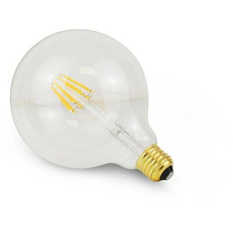 Bombilla LED Globo de filamento E27 G125 8W 800lm 3000K
