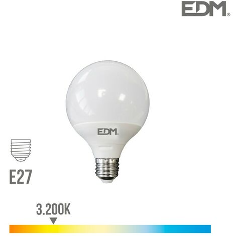 Bombilla led globo E27 10W EDM -Disponible en varias versiones
