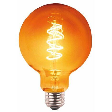 Bombilla LED globo espiral G125 3W