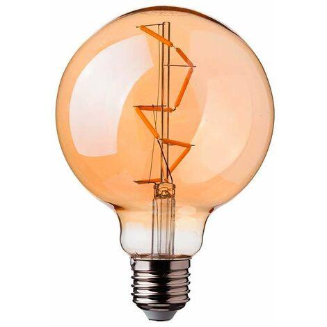 Bombilla LED Globo Filamento Frost Cover A67 E27 6W 300°