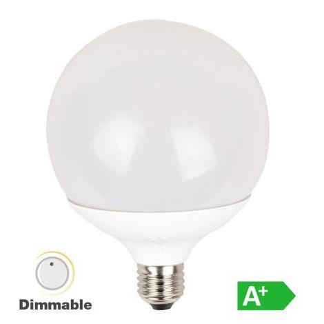 Bombilla led globo G120 3000K 13W 200° regulable