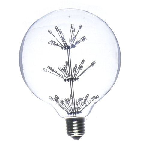 Bombilla led globo G125 E27 2W 4200K 220V