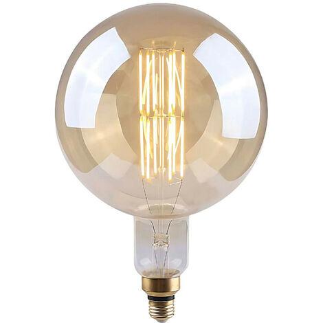 Bombilla LED Globo G200 Gigante E27 8W Equi.40W 500lm Vintage Regulable Gold 25000H