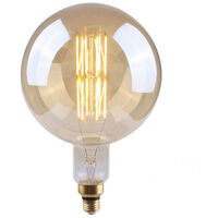 Bombilla LED Globo G200 Gigante E27 8W Equi.40W 500lm Vintage Regulable Gold 25000H