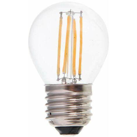 Bombilla led globo G45 filamento E27 4W 300°