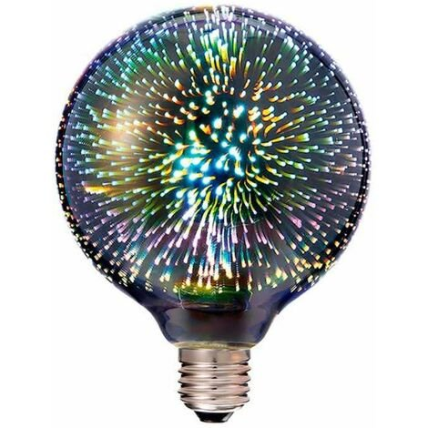 Bombilla LED globo Star Filament G125 E27 3000K 3W 300°