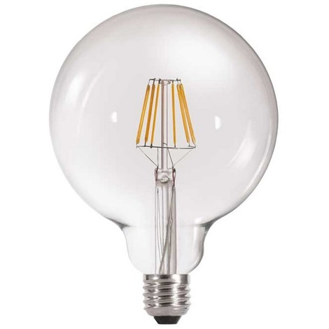 Bombilla LED Globo Transparente E27 (6W)