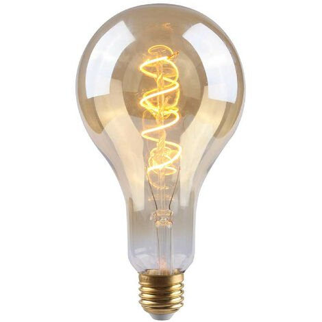 Bombilla LED Gota E27 4W Equi.17W 160lm Regulable 2100K Gold 15000H 7hSevenOn Vintage