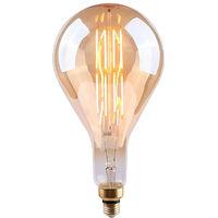 Bombilla LED Gota Gigante E27 8W Vintage Regulable Gold 15000h