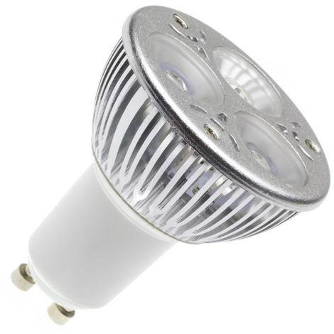 Bombilla LED GU10 120º 5W Silver Blanco Cálido 2800K - 3200K