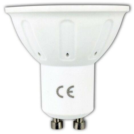 Bombilla LED GU10 3W Eq 20W | Temperatura de color: Blanco frío 6400K