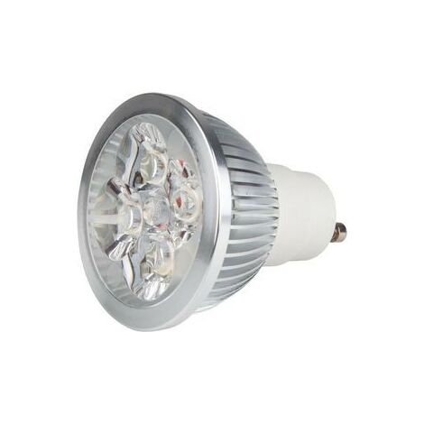 Bombilla LED GU10 4x1W 5000K