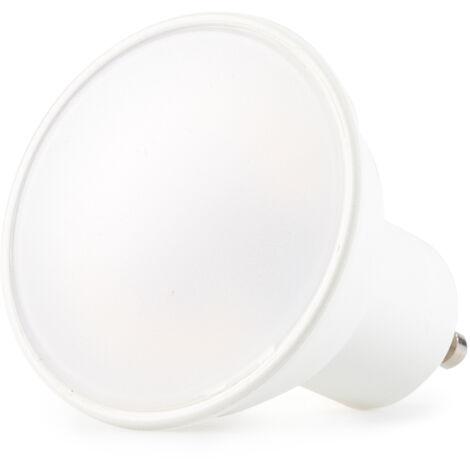 Bombilla LED GU10 6W 580Lm 100º 15000H Regulable