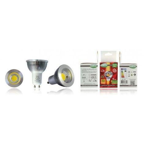 Bombilla LED GU10 6W COB 2700 ° k regulable VISION EL