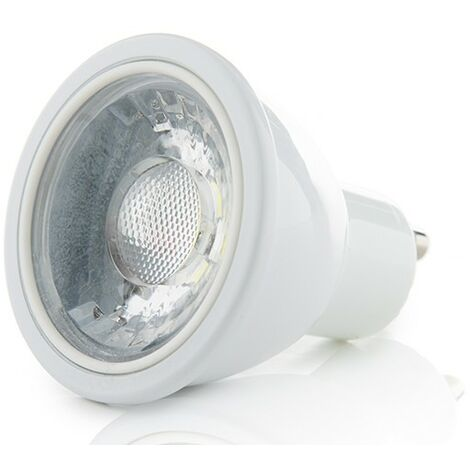 Bombilla LED GU10 7W 580Lm 38º 15000H Regulable