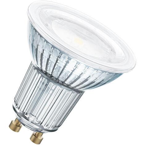 Bombilla LED GU10 80 Regulable 120° 8,3W 2700K Luz Calida OSRAM