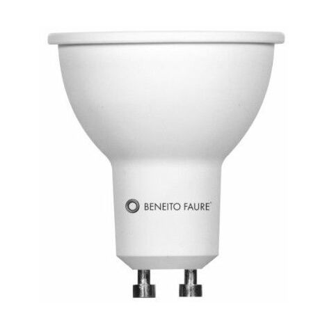 Bombilla Led GU10 8w 60º System Beneito Faure 3494 4.000k Dimmable