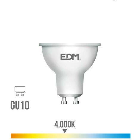 BOMBILLA LED GU10 8W 600LUMEN 4.000K EDM - NEOFERR