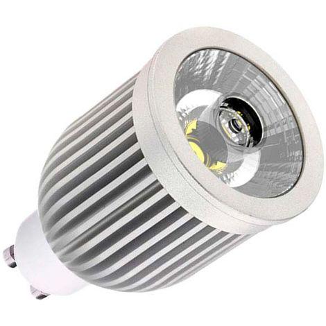 Bombilla LED GU10-COB, Aluminio, 7W