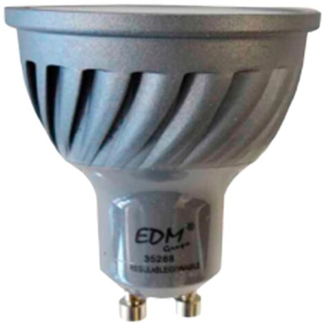 Bombilla Led GU10 Dimable 6W 6400K EDM -Disponible en varias versiones
