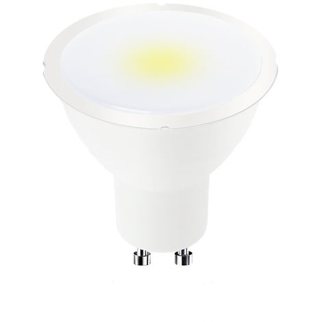 Bombilla LED GU10 PLUS 6W Regulable 100º