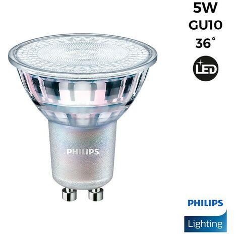 Bombilla LED GU10 Regulable CorePro MAS spotVLE 36° 4.9W