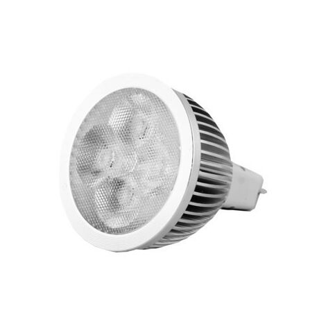 Bombilla LED GU5.3 4x1W 12V 3000K
