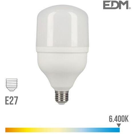 BOMBILLA LED INDUSTRIAL 30W E27 6.400K T80 2400 LUMENS EDM