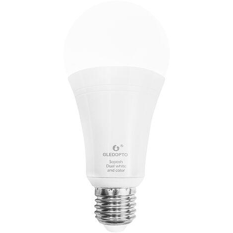 Bombilla LED Lampara regulable RGBW / RGBWW, Bombilla inteligente(no se puede enviar a Baleares)