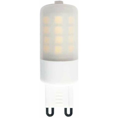 Bombilla LED micro G9 milky 3W 360° Regulable