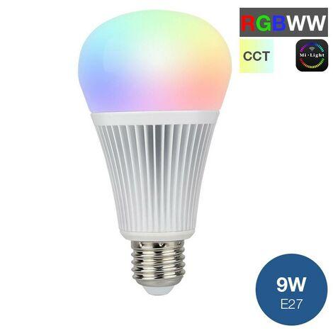 Bombilla LED MiLight RGB+CCT E27 9W 850LM